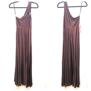 Shareen Staci One Shoulder Maxi Dress NWT